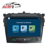 Android 8.1 2 din 1 din car radio DVD Player GPS Navigation for Suzuki Grand Vitara 2015 2016 2017 Bluetooth WIFI 4G IPS Stereo