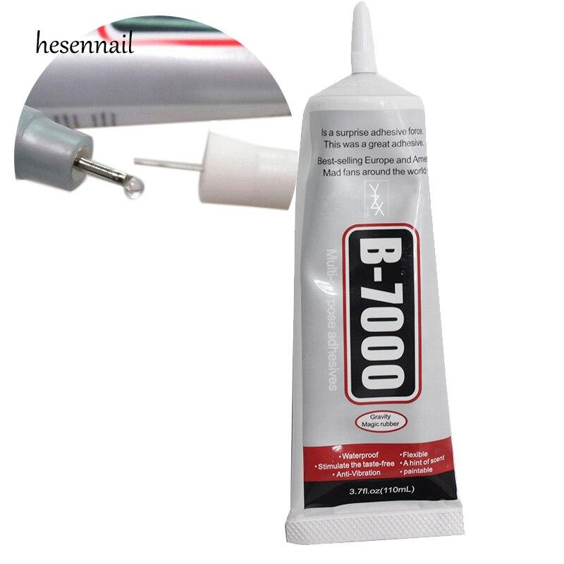 1 pz B-7000 110 ml Multiuso Adesivo Gioielli Strass Craft Per La Riparazione Cellulare Touch Screen Colla FAI DA TE strumenti