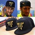 Neymar JR njr Brasil Brasil Bonés de Beisebol hip hop Snapback Esportes cap chapéu Homens Mulheres chapeu de sol masculino osso novo 2014