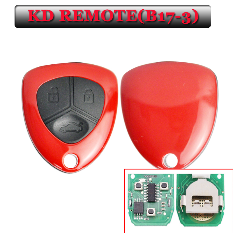 New Arrival free shipping B17 KD remote 3 Button Remote Key with Red colour for URG200/KD900/KD200 machine(5 pcs/lot) интимная игрушка brand new 30pcs kd 02