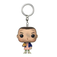 Stranger Things Eleven Vinyl Action Figures Children Toy Keychain With Retail Box