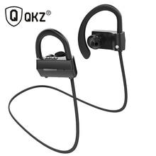 Оригинальный qkz QG10 гарнитура Bluetooth Беспроводной Спорт Bluetooth наушники с микрофоном Шум Отмена гарнитура Fone де ouvido