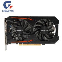 Carte graphique d'origine GIGABYTE GPU GTX 1050 2 go carte graphique 128Bit GP107-300 pour carte NVIDIA Geforce GTX1050 2 go VGA HDMI PCI-E