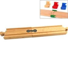 5/10/4 шт. железнодорожного пути игрушками поездом TTC18 держатель подходит для деревянная трасса автомобиля Brio Игрушки для мальчиков двигателя модели игрушки