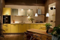High gloss/lacquer kitchen cabinet mordern(LH LA042)