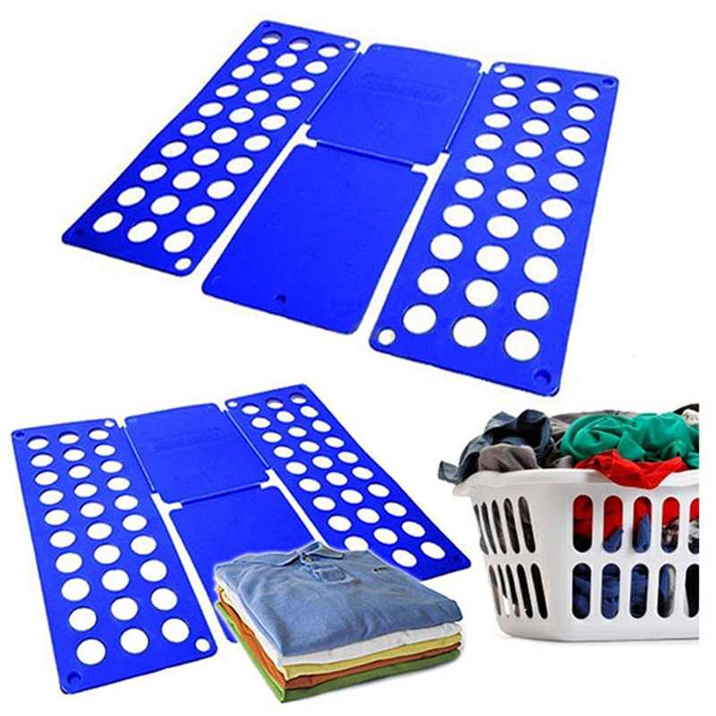 Quality Adult Magic Clothes Folder T Shirts Jumpers Organiser Fold Save Time Quick Clothes Folding Board Clothes Holder 2 Size in Clothes Pegs from Home Garden