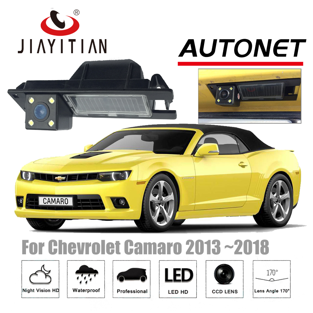 JIAYITIAN Rear View Camera For Chevrolet Camaro 2013 2014 2014 2016 2017/CCD/Night Vision/ license plate Camera/Backup Camera