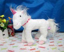 Originale Rare Germania Unicorn White Horse Molle Sveglio Animale di Pezza  Peluche Regalo di Compleanno Bambola Scherza il Regal. 03aac638d3c2
