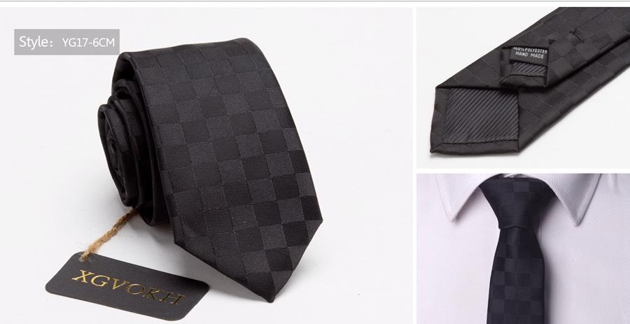Men ties necktie Men's vestidos business wedding tie Male Dress legame gift gravata England Stripes JACQUARD WOVEN 6cm 20