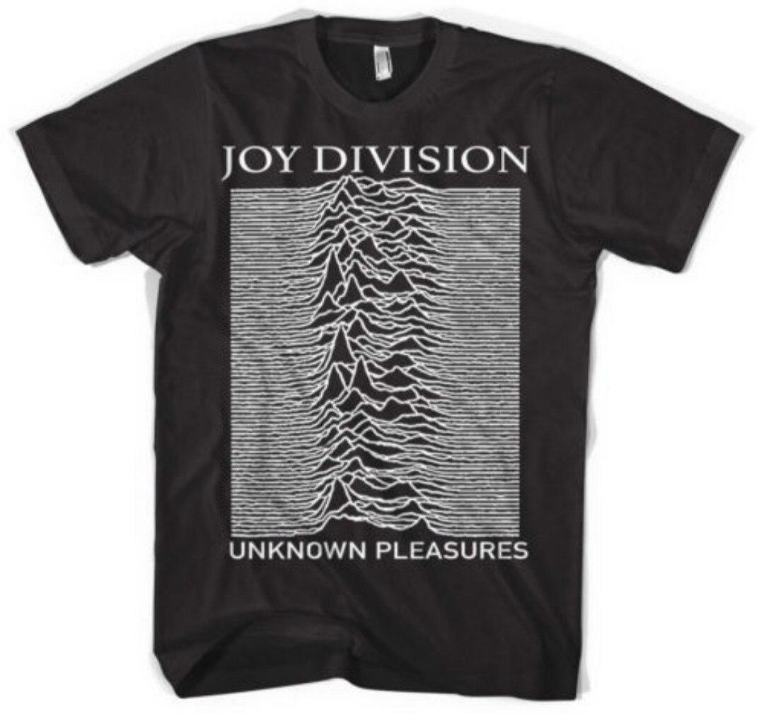 Hillbilly Joy Division Design Noir Unisexe D'été Coton Tops Tee À Manches Courtes Lâche T-shirts Col Rond Vogue t shirt Femme