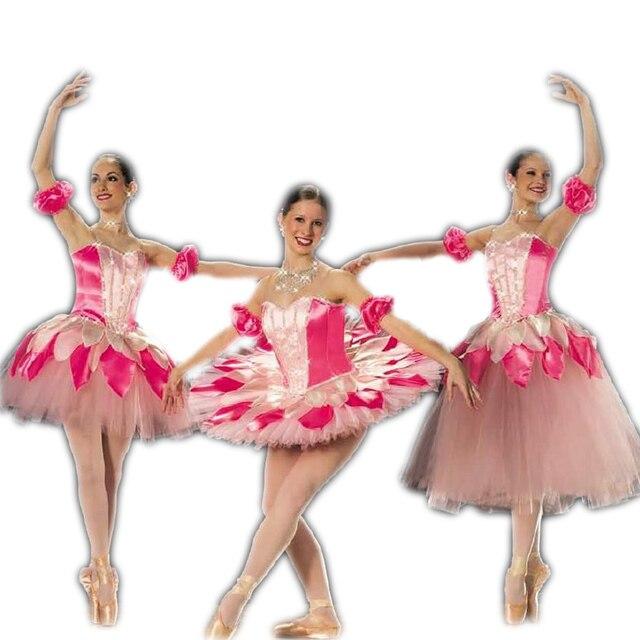 55be70bd6 Professional Ballet Tutu Ballet Dress For Children Adult Women Latin ...