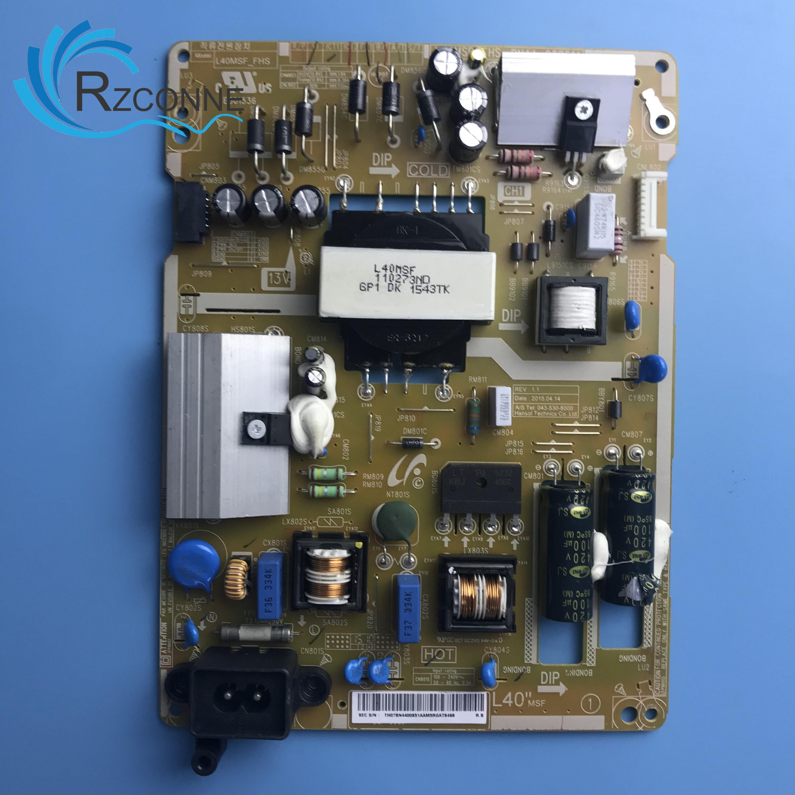 Alimentation de carte de carte d'alimentation L40MSF_FHS BN44-00851A pour 40 pouces Samsung LCD TV UN40J5200AF UN40J5000 UE40J5000