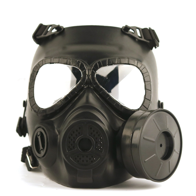 Tactical Skull Masks Resin Full Face Fog Fan Gas Mask for CS Wargame Airsoft Paintball Cosplay Face Protective M04 Safety Mask цены онлайн