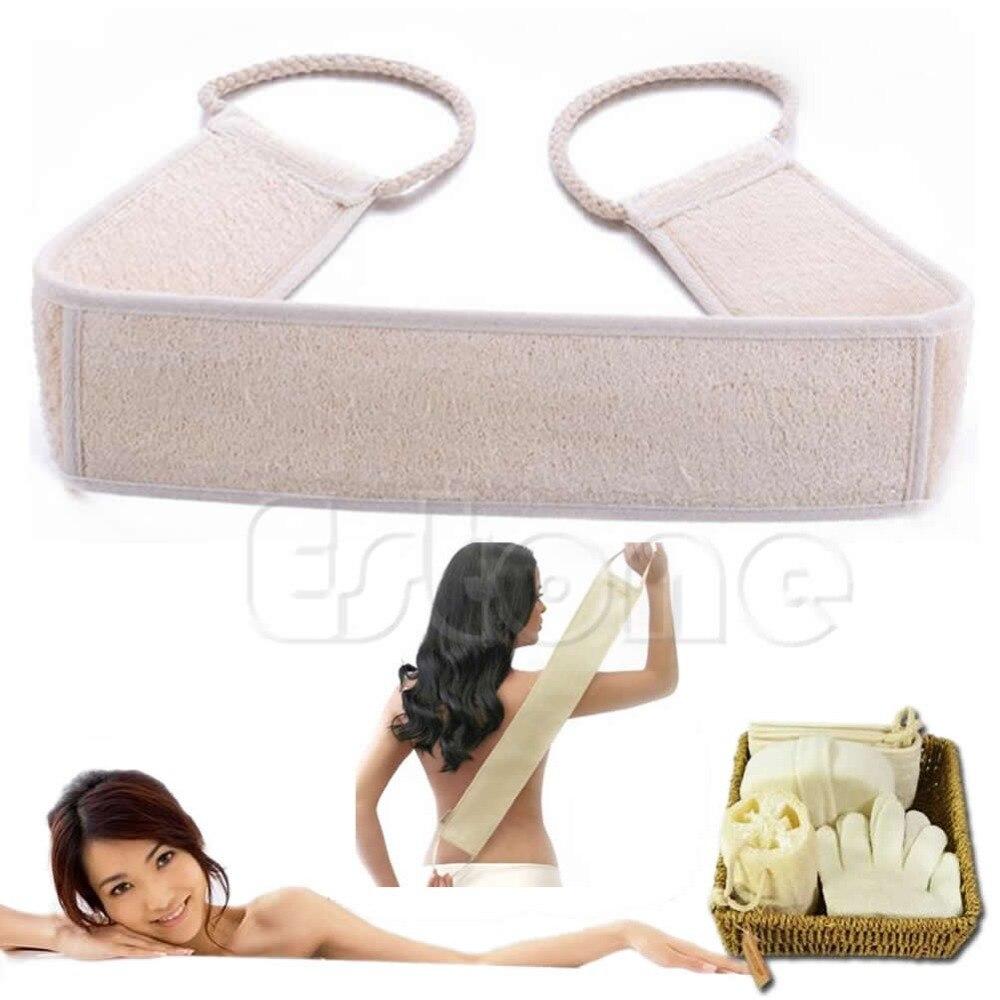 Exfoliating Body Sponge Loofah Back Strap Bath Shower Body