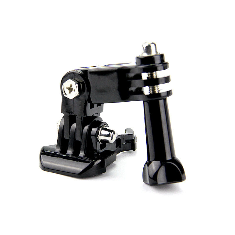 hotography accessories Andoer Three way Adjustable Pivot Arm for Gopro Hero 4 3+ 2 1 SJ4000 Camera