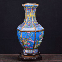 Antique Royal Chinese Porcelain Vase Decorative Flower Vase For Wedding Decoration Pot Jingdezhen Porcelain Vase Christmas Gift