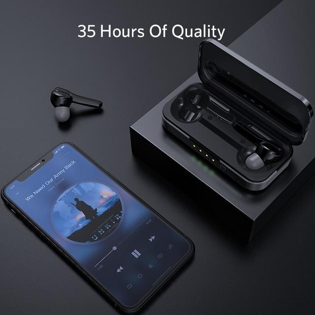 Mifa X3 Wireless Earphones Bluetooth 5.0 Earphone Headset Deep Ture Wireles Stereo Sport Earphone with microphone handsfree call 4