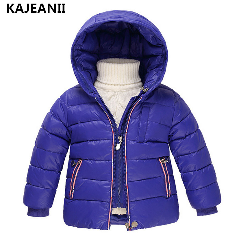 KAJEANII Children's Girls Outerwear White Duck Down Jackets Boy Autumn Winter Coat Fashion Hooded Jacket + Vest russia winter boys girls down jacket boy girl warm thick duck down