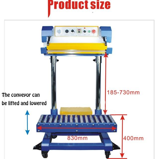 Pneumatic Sealing Machine Fertilizer Bag Sealing Machine Plastic Bags Sealing Machine QF-600L