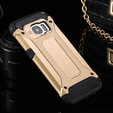 Armor Case Shockproof Edge-Plus Note 4 Strong Samsung Galaxy For S5 S6 S7 J3 J5 J7 A3