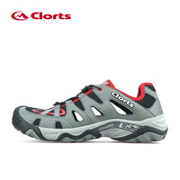 2017 Clorts Men Trekking Shoes Breathable Hiking Shoes Outdoor Hiking Sandals Aqua Water Shoes Beach Sandals