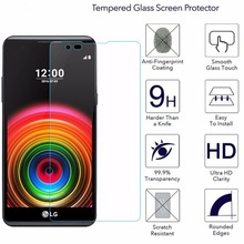2Pcs/Lot 9H Tempered Glass For LG X Power 2016 Screen Protec