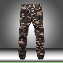 Свободные военные брюки карго с карманами, мужские хлопковые осенние узкие шаровары, камуфляжные тактические мужские повседневные брюки, спортивные штаны