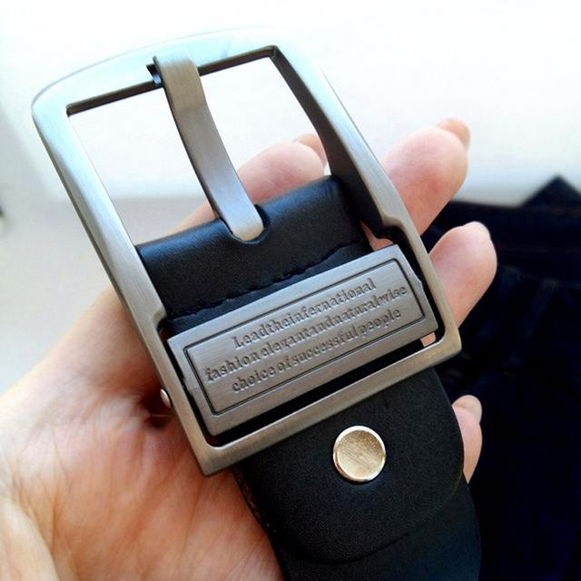 Men's Luxury Genuine Leather Adjustable Length Belts