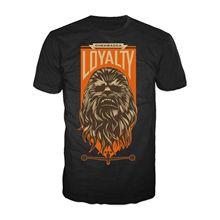 Star Wars 7 Chewie Badge Loyalty  Mens Ladies Black T-Shirt Original Free shipping Harajuku Tops Fashion Classic