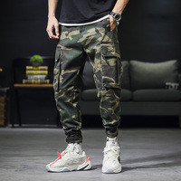 2019 Men's Cargo Pants Casual Cotton Military Tactical Baggy Pants Trousers Plus size 3XL Military Camouflage Uniforms