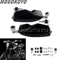 Motobike Off Road 7/8 1 1/8 Handguard Dirt Bike Enduro Hand Brush Guards for KTM XC EXC XF SMR Husaberg TE TC Black 22mm 28mm