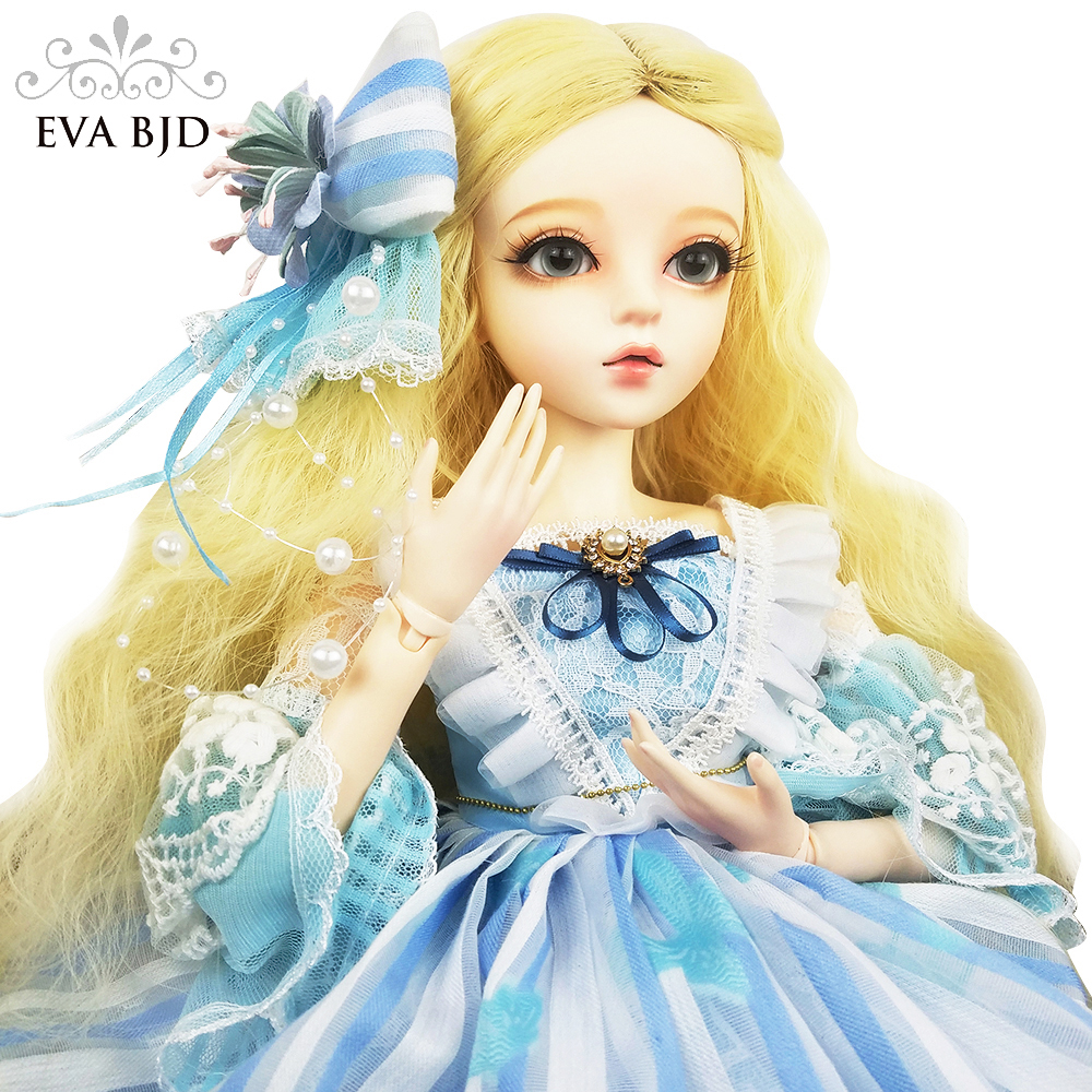24 Cinderella BJD Full Set + Handmade Makeup + 1/3 SD BJD Doll jointed doll 60cm Fairy Toy Doll Gift for Girl Children кукла bjd dc doll chateau 6 bjd sd doll zora soom volks