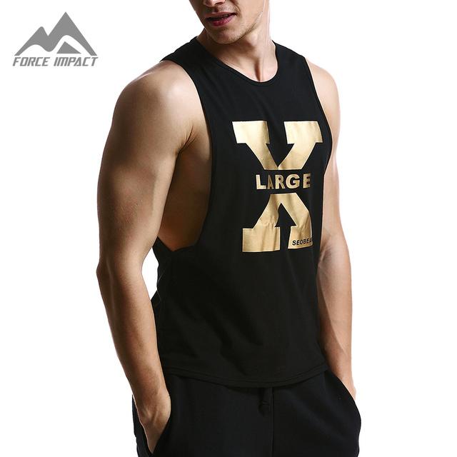 2016 Nuevo Ocio de La Manera Ocasional de Los Hombres del Algodón Tops Sexy Fitness Transpirable Verano hombres Chaleco sin mangas Cabidas Delgadas de Los Hombres Camisetas de XB13
