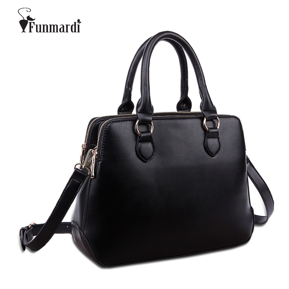 Hot sale Three-tier design PU leather handbags High capacity women bags Simple f
