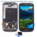 Para samsung galaxy s3 i9305 lcd screen display toque digitador assembléia com frame + ferramentas, preto, Frete Grátis