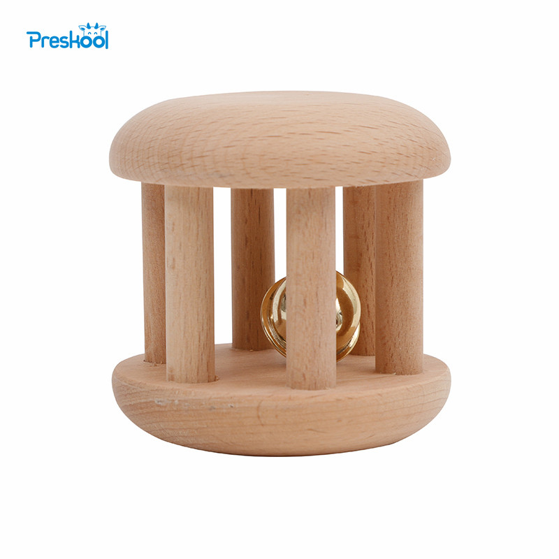 Preskool Montessori Baby Toys for Children Kids Toy Wood Rattles Educational Toys Wooden Toys Brinquedos BrinquedoJuguetes цена