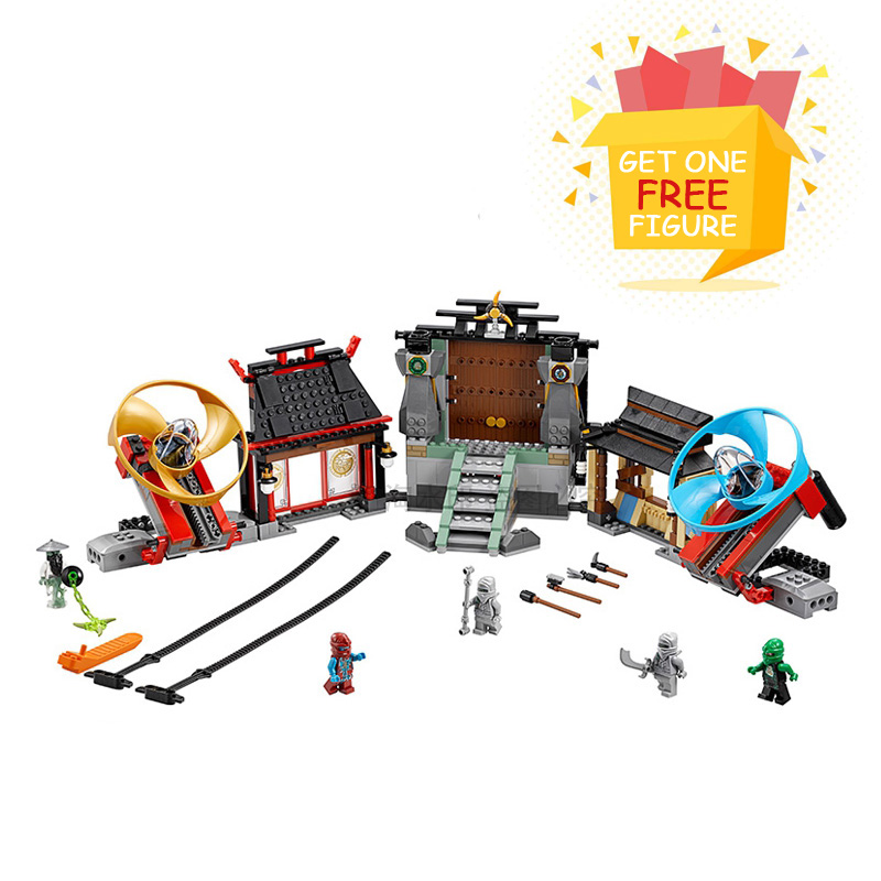 Bela Pogo Compatible Legoe Ninjagoe Arena Building Blocks Bricks Action Figures Thunder Swordsman toys for children lepin pogo bela 10609 girls friends heartlake pizzeria models building blocks bricks action figures compatible legoe toys