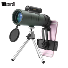 10x42 Monocular Telescope All Optics Waterproof With BaK4 Prism for Birdwatching High Power Military Binoculars Scope