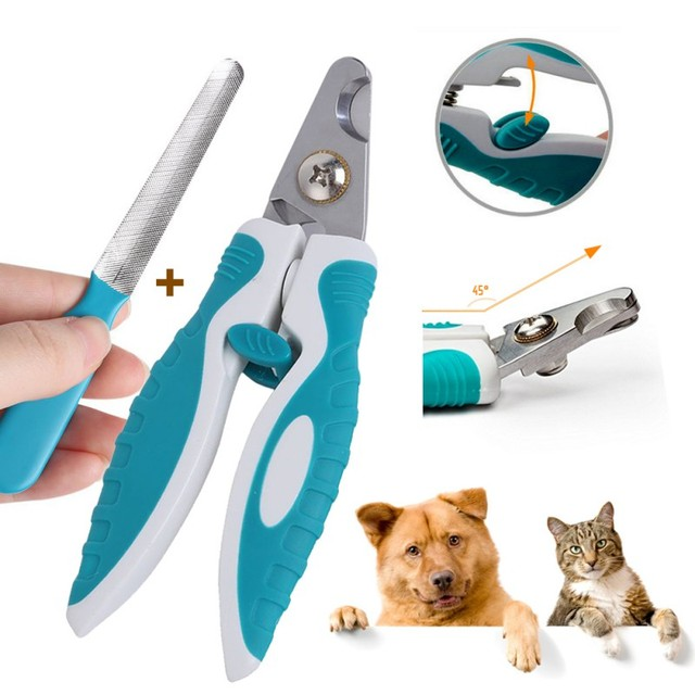 Safety Dog Nail Clippers Trimmer Quick Guard to Avoid Overcutting ...