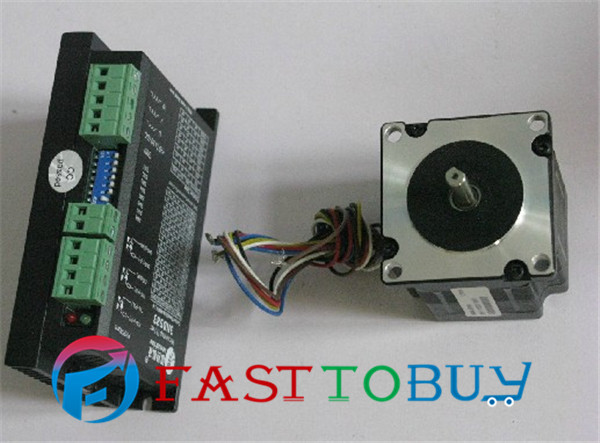 цена на 3-phase Stepper Motor Drive kit 3ND583 + 573S09 0.9 N.m 1.2 Degree new and original