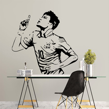Hot Sale Athlete Pvc Wall Decals Home Decor For Kids Rooms Art Decal
