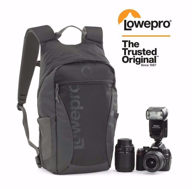FREE SHIPPING NEW Lowepro Photo Hatchback 16L AW Shoulders Camera Bag Anti-theft Package Knapsack Weather Cover lowepro genuine pro runner 450 aw urban inspired photo camera bag digital slr laptop 17 backpack for photojournalists