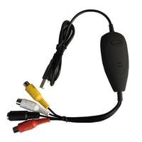USB2 0 Video Audio Capture Converter Convert Analog Video Audio To Digital For Windows7 8 10