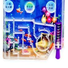 Детские Подарочные мишени пинбол игрушки вечерние шары для карманной съемки Забавный интеллект сложная игра машина Мини мультфильм случайный цвет