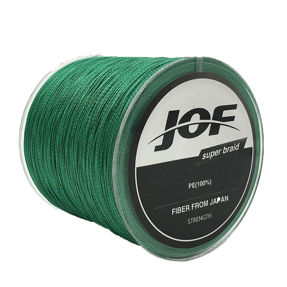 4STRANDS 300 m JOF Merk Super Sterke Japan Multifilament PE - Visvangst