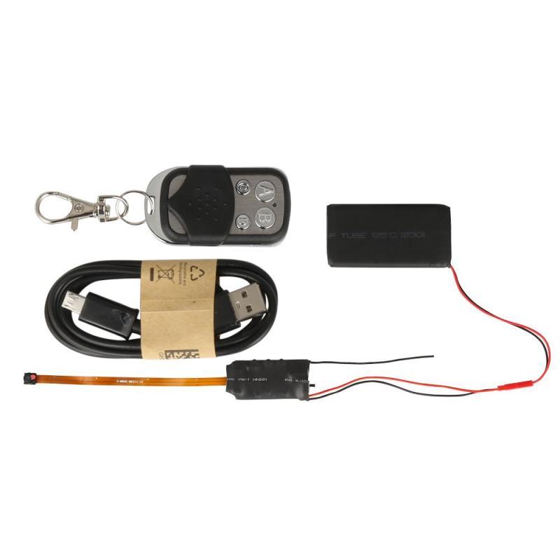 QIACHIP Mini DIY Cámara Full HD 1080 p videocámara DV DVR detección de movimiento Video seguridad con 2,4g RF remoto control DIY Cámara