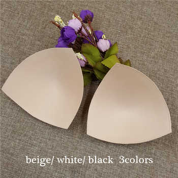 50pairs/lot women high quality Triangle Sponge Bra Pad Removable Insert Breast Bikini Enhancers Intimate Accessorories - Category 🛒 Underwear & Sleepwears