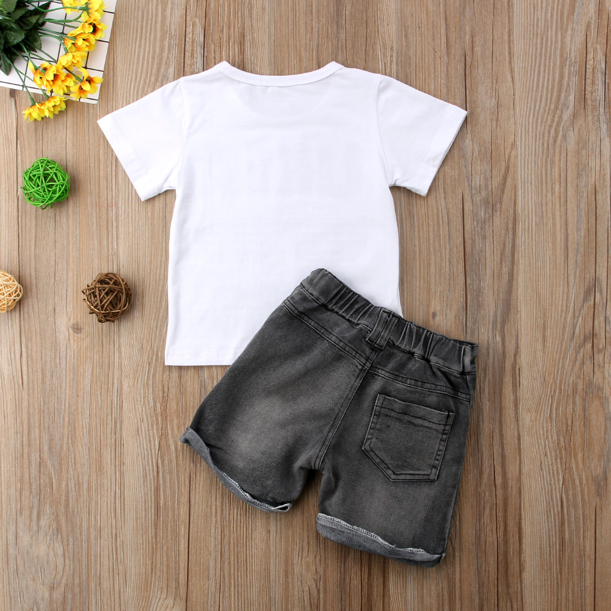 266801f3a8ce Boutique Kids Clothes Summer Baby Boy Clothes Letter Eyeglass Print Toddler  Boys Clothing Sets 2018 New Children Cotton Suit-in Clothing Sets from  Mother ...