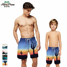 Men Swimming Trunks Briefs Boy Swimsuit Sunga Breathable Beach Shorts Swimwear Kids for Boys