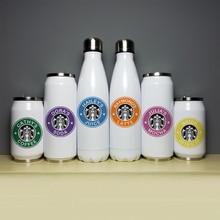 Cooles Design Edelstahl Thermos Isolierte Edelstahl Vakuum Flasche Custom Name Druck Geschenk